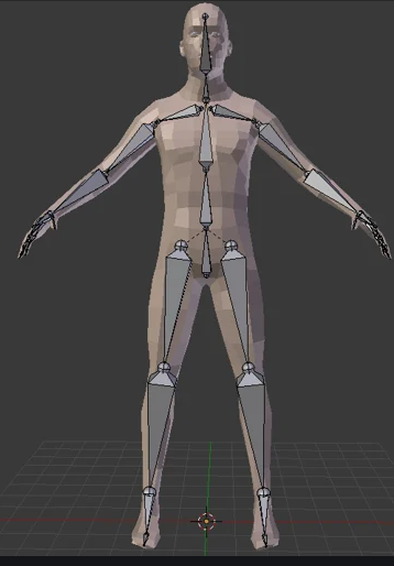 other scrn blender human rigged pose