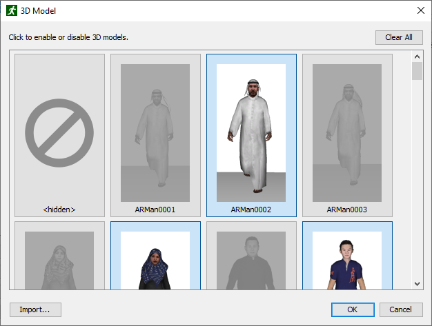 path ui dialog 3d models 2020 2