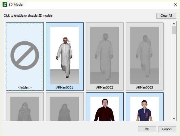 path ui dialog 3d models