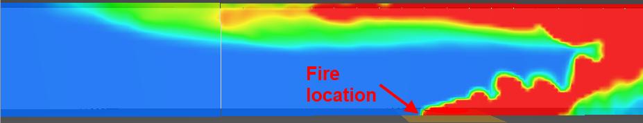 pyro scrn critvel temp contour critical velocity hrr 1