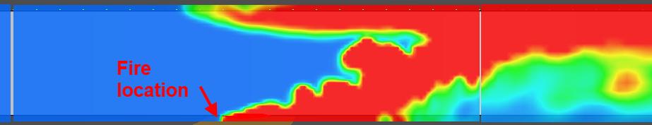 pyro scrn critvel temp contour critical velocity hrr 2
