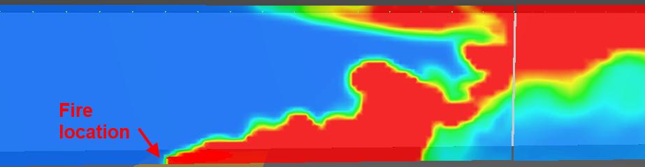 pyro scrn critvel temp contour critical velocity hrr 3