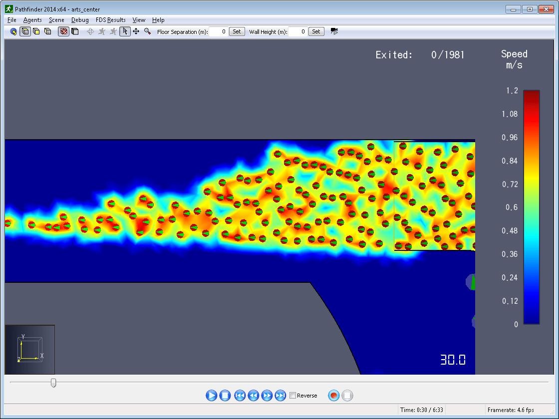 results scrn contour radius 1m