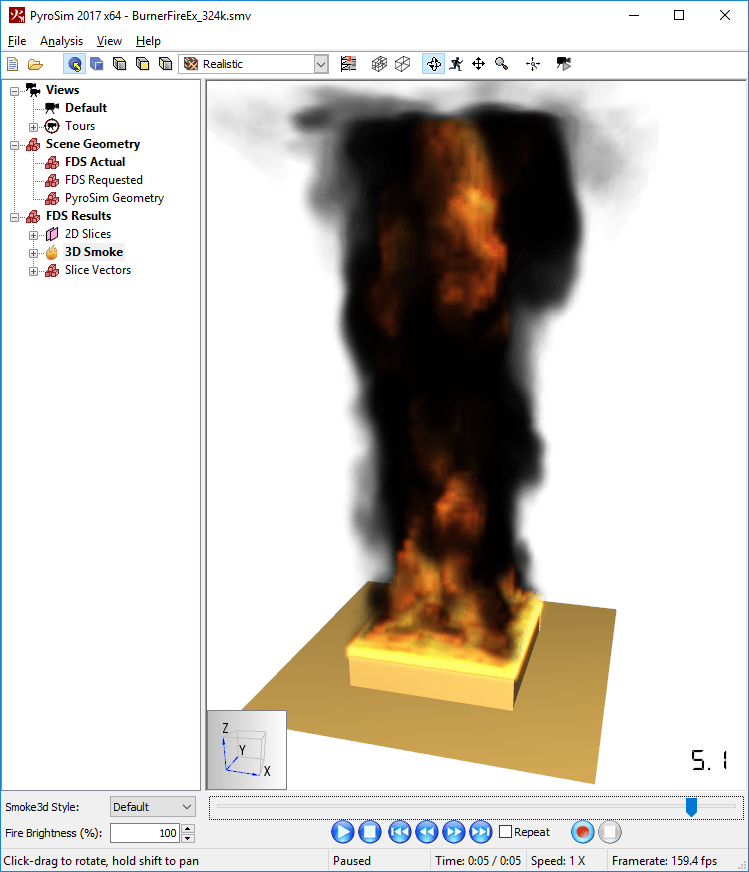 results scrn rendering fire compatibility