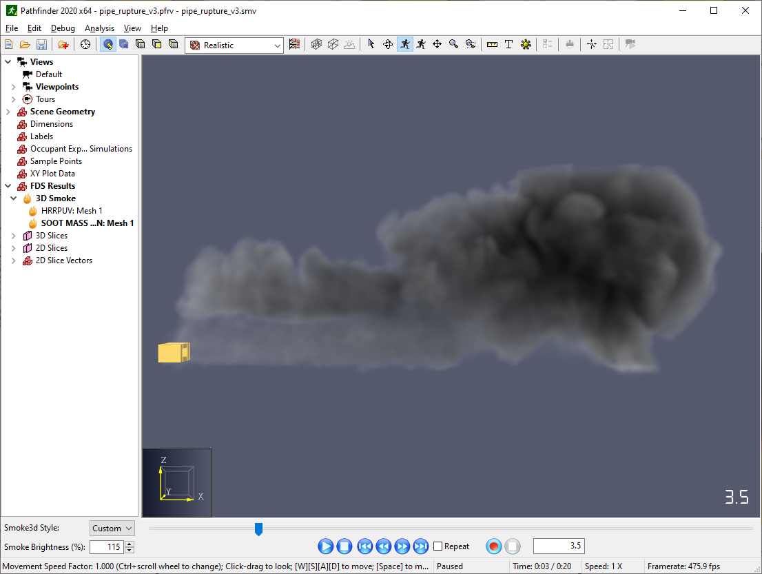 results scrn rendering smoke lighting on