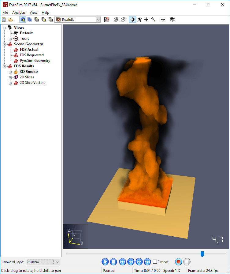 results scrn smoke fire legacy