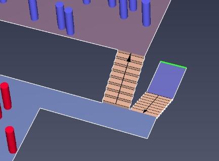 results scrn vnv flow merging stairs adjacent
