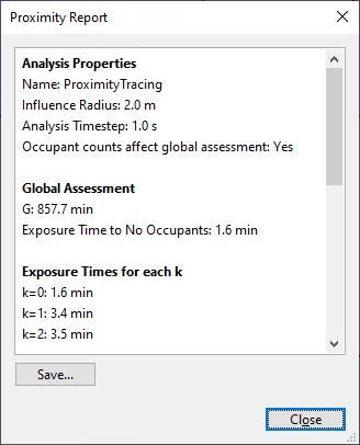 results ui dialog proximity report
