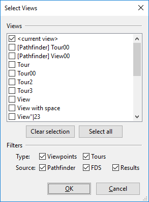 results ui dialog screenshot select views
